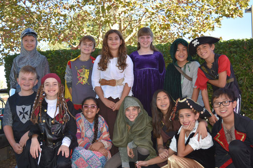 Oakwood Fourth and Fifth Graders Step Back in Time For a Medieval/Renaissance Celebration