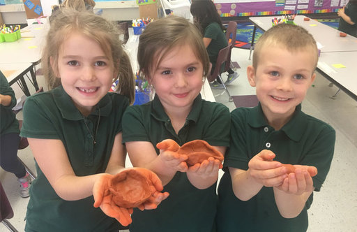 Kindergartners Study Native American Cultures as Part of History Curriculum