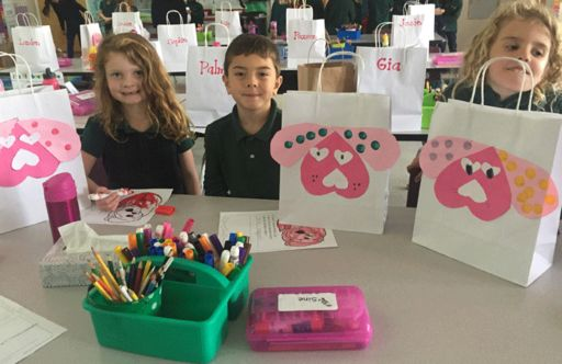 Oakwood Spreads Love Throughout Campus With Valentine's Day Celebrations