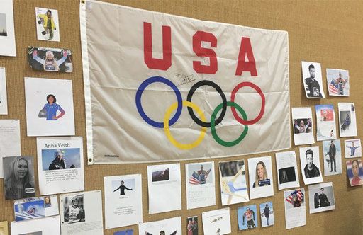 Fourth and Fifth Grade Olympic Games Project Inspires Students During Fitness Activities