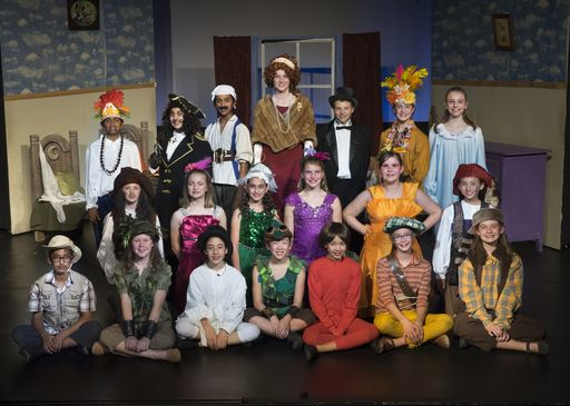 Oakwood Middle School Performance of Peter Pan Jr. Wows Audiences