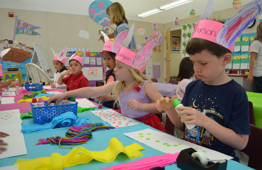 Oakwood Celebrates Springtime With Grade-Level Activities