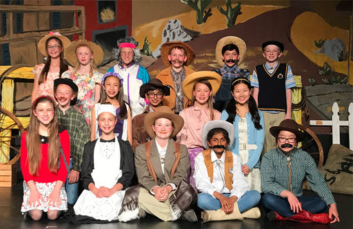 Middle School Actors Have Crowds Bursting With Laughter During Performance of Cactus Pass