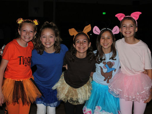 Middle School Students Gather for Halloween Fun