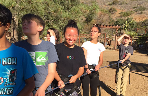 Oakwood 7th Graders Enjoy Hands-on Learning on Catalina Island