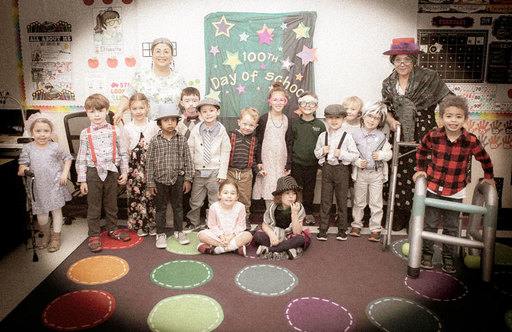 Students Celebrate One Hundredth Day of School