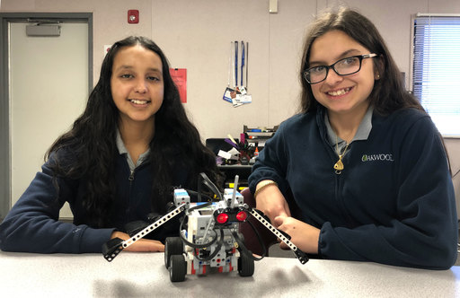 Middle School Robotics Students Create Mythical Beasts