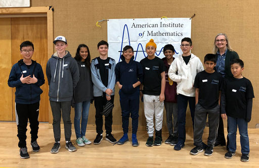 Oakwood Middle School Students Excel At MATHCOUNTS Competition