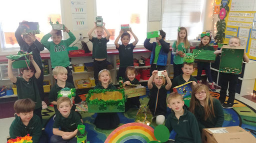 Leprechauns Elude Traps Set By Kindergarten Students