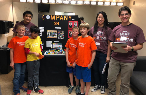 Students Explore Lunar Habitation Problem Solving for FIRST LEGO League Junior