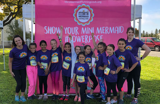 Oakwood Mini Mermaid Running Club Teaches the Importance of a Strong Heart, Mind, and Body