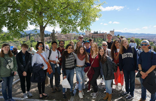 HS Students Immerse Themselves in Spanish Culture