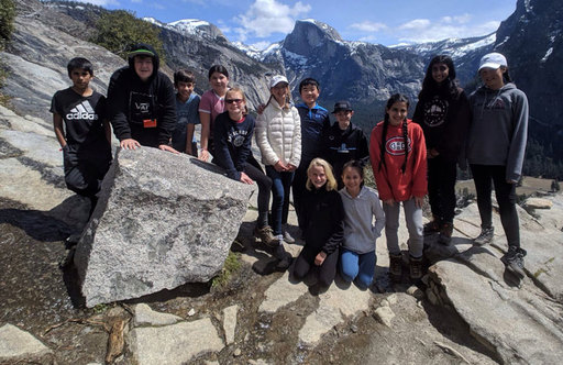 Oakwood 6th Graders Spend a Week Connecting With Nature in Yosemite