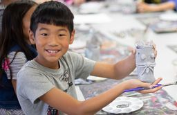 Artapalooza Campers Explore Creativity Through Art Projects