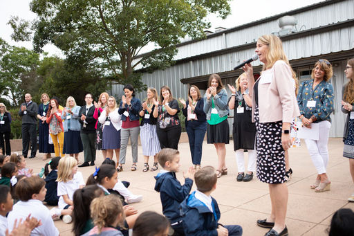 Lower School Students Kick-off the New School Year
