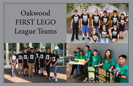 Oakwood Success at FIRST LEGO League Regional Qualifying Tournaments