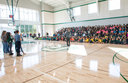 Oakwood Brings the Thunder at New Athletic Center Grand Opening