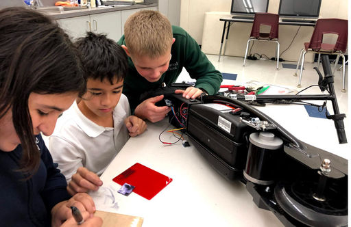 Oakwood's Techie Pizza Robotics Team Prepares for FLL Innovation Expo