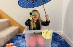 Kindergarten Students take a Creative Journey to the New World