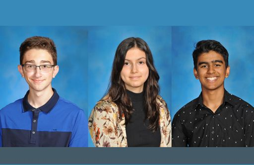 Three Oakwood High School Seniors Selected as National Merit Scholar Semifinalists
