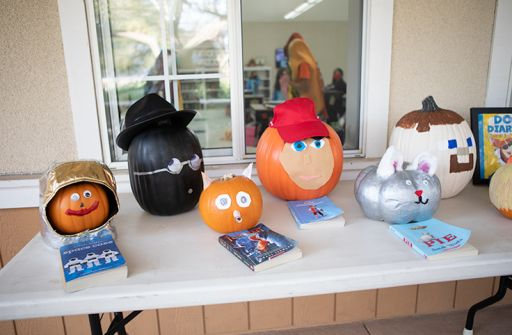 Elementary Students Put Creativity to Test with Pumpkin Book Reports