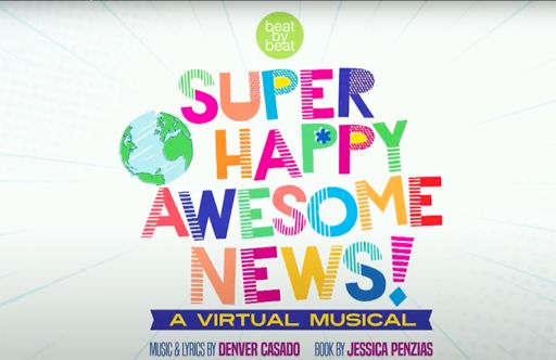 "Third Grade Creates A Virtual Musical ""Super Happy Awesome News!"""