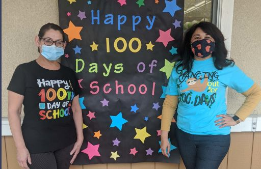 Oakwood's Youngest Students Celebrate the 100th Day of School