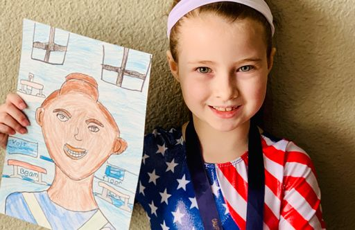 Second Grade Students Embody Incredible People